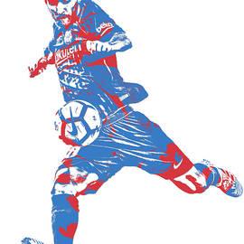 Lionel Messi F C BARCELONA ARGENTINA PIXEL ART 2 - Joe Hamilton