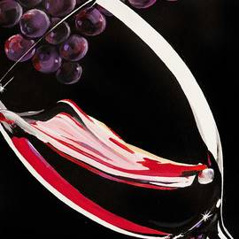 Liquid Grapes by Bill Dunkley