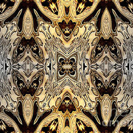 Jolanta Anna Karolska - Liquid silver and gold patterns