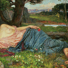 Listen to my Sweet Pipings by John William Waterhouse
