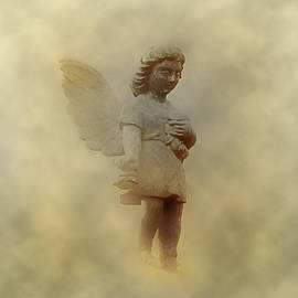 Little Angel In The Clouds by Bill Cannon