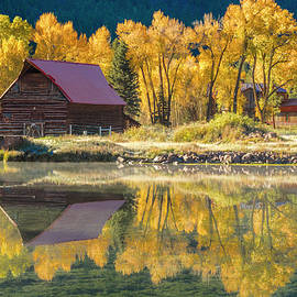 Little Barn By The Lake by Teri Virbickis