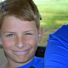 Mark Bell - Little Boy Blue in Cart