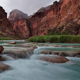 Little Colorado River, Arizona, I by Dave Wilson