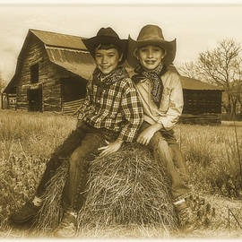 Debra and Dave Vanderlaan - Little Cowboys