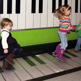 Sally Weigand - Little Girls Jumping