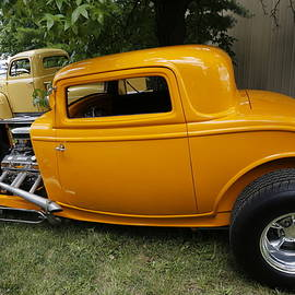Little Gold Coupe by Jeff Roney