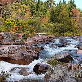 Sandra Huston - Little Niagara Falls, Baxter State Park