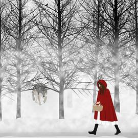 Little Red by Nancy Levan
