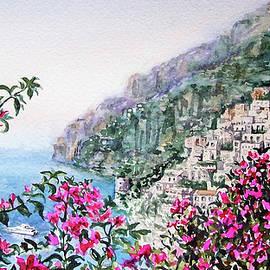 Little Town Positano Italy - Irina Sztukowski