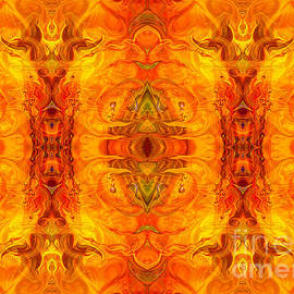 Omaste Witkowski - Living Passion Abstract Bliss  by Omashte