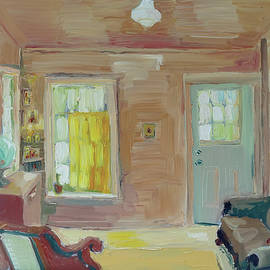 Laura Wilson - Living Room with Icon Corner