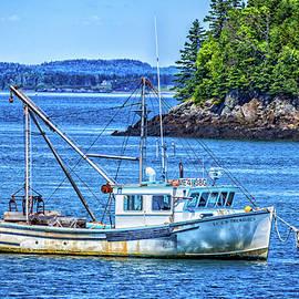 Gestalt Imagery - Lobster Boat at Anchor