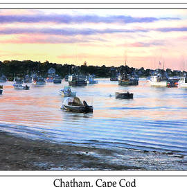 Daphne Sampson - Lobster Boats At Twilight Cape Cod
