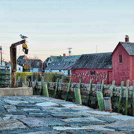 Jeff Folger - Lobster pots on Rockports T wharf