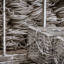 Lobster Traps and Ropes #2 by Stuart Litoff