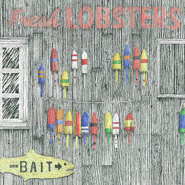 Ed Einboden - Lobsters for sale