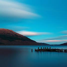 Loch Lomond Blue by Maria Gaellman