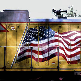 Locomotive Flag Alternate by Jim Love