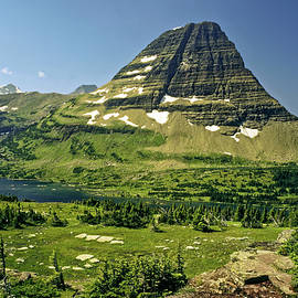 Logan Pass at Glacier by Sally Weigand