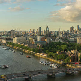 London Along the Thames Panorama - Mike Reid
