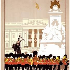London by LNER - London and North Eastern Railway - Retro travel Poster - Vintage Poster - Studio Grafiikka