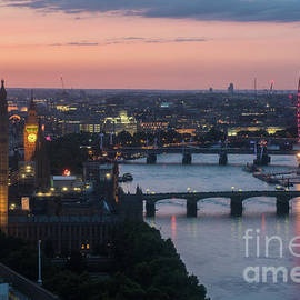 London Thames Sunset Light - Mike Reid