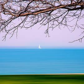 Lone Boat by Milena Ilieva