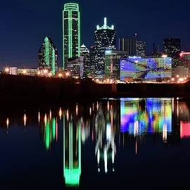 Lone Star Dallas Pano by Frozen in Time Fine Art Photography