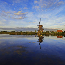 Lone Windmill by Chad Dutson