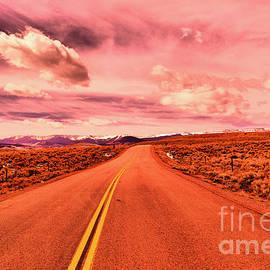 Long Dakota highway by Jeff Swan