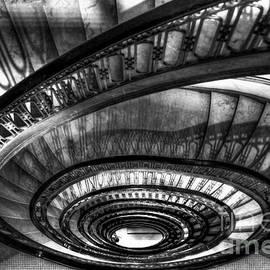 Reid Callaway - Looking Down Too The Ponce Stairway Atlanta GA Art