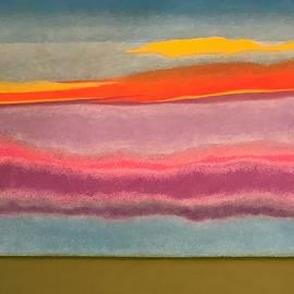 Harvey Rogosin - Looking East at Dusk Avon by the Sea