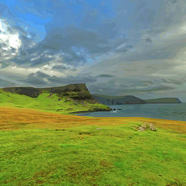 Looking South East From Neist Point by Brian Shaw