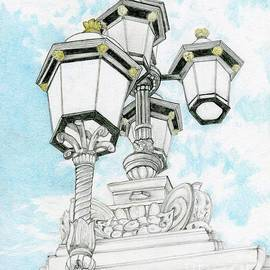 Looking Up In London by Tammie Painter