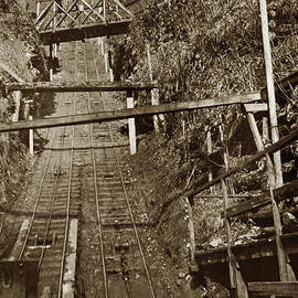 Looking up the Carbonado incline Railway, Washington State 1903 by California Views Archives Mr Pat Hathaway Archives