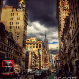 Miriam Danar - Looking Uptown - with Empire State Building