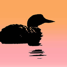 Loon Alone by Lori Lafargue
