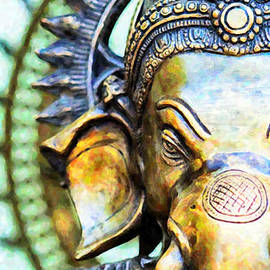 Lord Ganesha by Tim Gainey