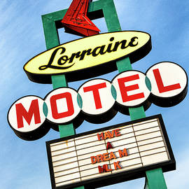 Stephen Stookey - Lorraine Motel Sign