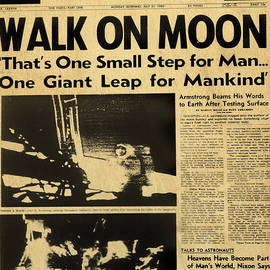 Alicia Hollinger - Los Angeles Times Moon Walk Newspaper