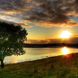 Lough Erne Sunset by Kim Shatwell-Irishphotographer