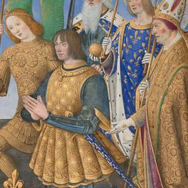 Louis XII of France Kneeling in Prayer - Jean Bourdichon