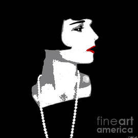 Saundra Myles - Louise Brooks In Black And White