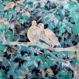 Love Doves Number One by Caroline Street
