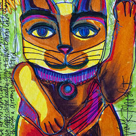 Love For China Cat by Laurie Maves ART