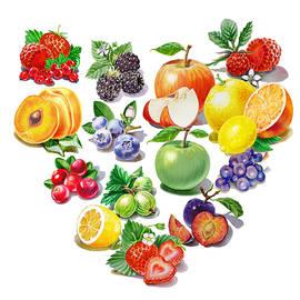 Love Fruits And Berries by Irina Sztukowski