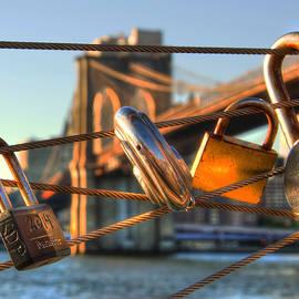 Joann Vitali - Love Locks - Brooklyn Bridge - New York City