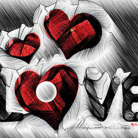 Love Sketch  by Rafael Salazar