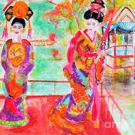 Lovely Asian Ladies by Stanley Morganstein